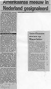 Via Paul Schrijvershof · Krantenartikel Telegraaf 28-08-1986 en Rotterdams Nieuwsblad 28-07-1986