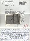 F.K. Haak · Foto plus begeleidende brief van de heer Haak